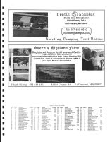 St. Charles Township Owners Directory, Ad - Circle S Stables, Queen's Highland Farm, Winona County 2004